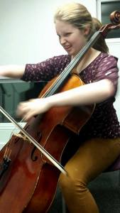 Before I discovered 'down the octave' in quartet playing