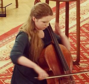 Performing at the Lansdowne Club in Mayfair, November 2014
