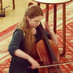 Playing at The Lansdowne Club, Mayfair. November 2014